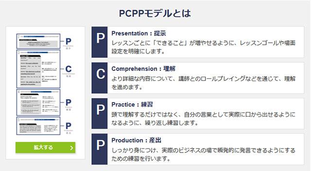 レアジョブ英会話 PCPPモデル